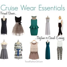 """Cruise Wear Essentials: Cruise Dresses"" by travelfashiongirl on Polyvore"