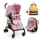 Point Shopping - Conjunto Carrinho de Bebê e Cadeira para Auto Compasso Ibiza 5057PR29 - Burigotto