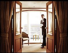 I could get used to this....how about you? Sail on one of Silversea's all-suite ships and you, too, will have your own personal butler!