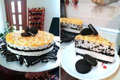 Prăjitura Banoreo - fără coacere, rețetă rapidă și delicioasă Cheesecake, Deserts, Mai, Food, Cakes, Sweets, Banana, Cake Makers, Cheesecakes