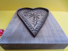 Springerle Holzmodel Model Herz Backmodel großes Herz