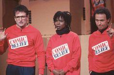 Robin Williams, Whoopi Goldberg and Billy Crystal