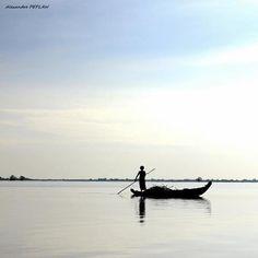 Lac Tonle Sap CAMBODGE.