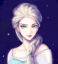 Queen Elsa by Rosuuri on DeviantArt
