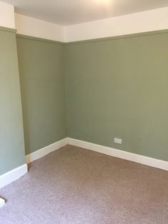 Vert De Terre, Farrow & Ball in Christians room