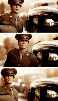 Ian Somerhalder in uniform.. and I didnt think he could get any better..