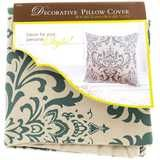 Get Natural & Taupe 18 x 18 Damask Print Pillow Cover online or find other Pillows & Covers products from HobbyLobby.com
