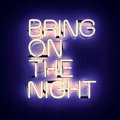 neon signs & good music