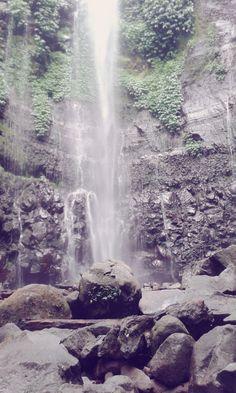 lawe #waterfall ,semaran, indonesia
