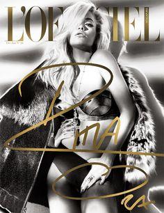 L'Officiel Singapur Diciembre 2014: Rita Ora