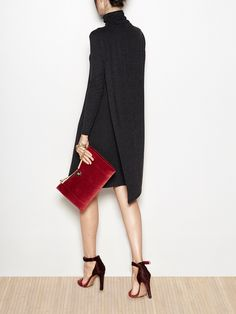 Asymmetrical elastic dress | Hoss Intropia Spain