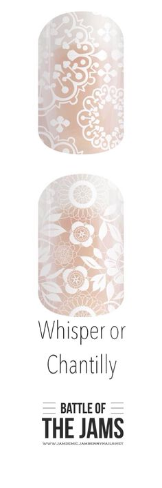 Battle of the Jams - Spring/Summer 2015  #whisperJN #chantillyJN http://jamdemic.jamberrynails.net/category/new-notable