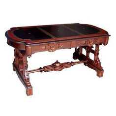 Substantial-Antique-Walnut-Library-Table-Attributed-to-Thomas-Brooks-5269