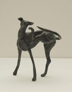 Harriet Glen (Zuid-Afrika 20e eeuw, jaren '50) Hazewindhond - Kunsthandel Simonis en Buunk, Ede (Nederland).