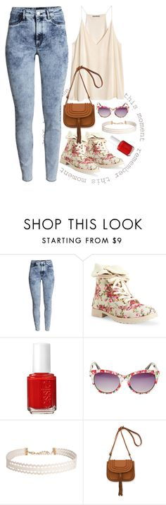 """Remember this moment"" by hayr0se ❤ liked on Polyvore featuring H&M, Aéropostale, Essie, Betsey Johnson and Humble Chic"