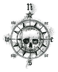 skyll compass tattoo designs - Google Search