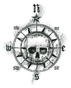 pirate compass symbol by dashinvaine on deviantart art fantasy treasure pinterest best. Black Bedroom Furniture Sets. Home Design Ideas
