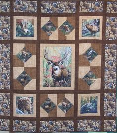 Fabric panel quilts | Tim Latimer - Quilts etc