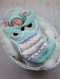 Divino Porta Infant Tejido A Mano!!! Súper Calentito! - $ 600,00