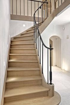 All Iron Railing Iron Handrails, Banisters, Stair Railing, Wrought Iron Stairs, Caribbean Homes, Welcome To My House, Pole Barn Homes, House Stairs, Stairway To Heaven