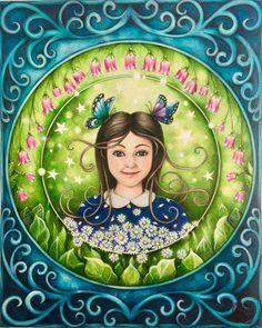 Resultado De Imagem Para Johanna Basford Ivy And The Inky Butterfly Coloured Pages