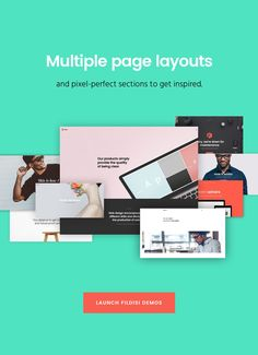 Fildisi Pages  wordpress theme