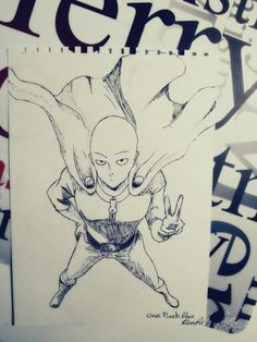 Character: saitama Anime: One punch man !
