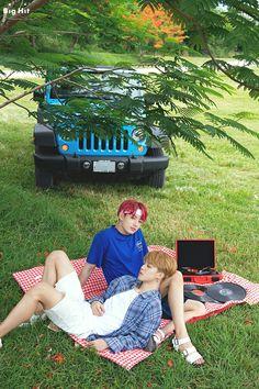 Saipan with BTS Park Jimin and Jeon Jungkook (Jimin and Jungkook)
