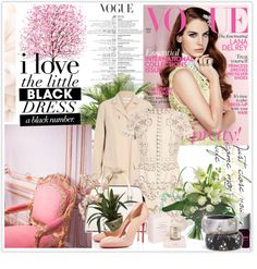 """""""263: 'Oh so pretty!', by Vogue UK."""" by carolinab26 ❤ liked on Polyvore"""