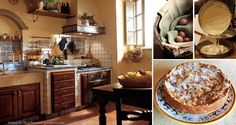 Baking a cake in Tuscany!