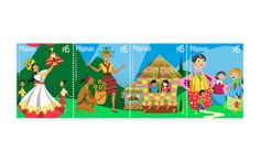 Philippines Grandest celebration of Filipino Fiesta through Stamps Stamp Collecting, Filipino, Postage Stamps, Philippines, Celebrities, Sport, Collection, News, Fiestas