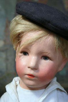 """1930s 20"""" Kathe Kruse Doll VIII """"German Child"""""""