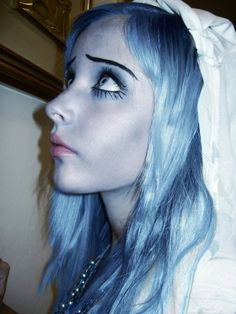 Emily Corpse Bride Makeup
