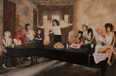 The Alternative Last Supper by Gary Waldrom