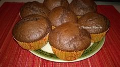 Chocolate Cranberry Muffins