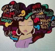 Drawing nature inspiration hair art 63 Ideas for 2019 Black Love Art, Black Girl Art, Art Girl, Black Girl Magic, Black Girls, Black Art Painting, Black Artwork, African American Art, African Art
