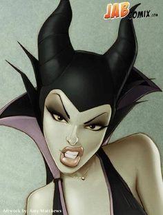 Maleficent... Nice.