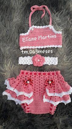 Crochet Baby, Crochet Top, Baby Dress Patterns, Chor, Crochet Clothes, Lace Shorts, Macrame, Kids Outfits, Babies