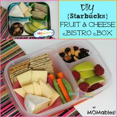 Biting The Hand That Feeds You: MOMables Monday - Fruit and Cheese Bistro Box