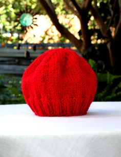RESERVED FOR V Handknit Beanie HatCapRibbed by KnitAndCrochetCafe, $18.00