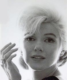 Marilyn Monroe by Bert Stern. 1962, su última sesión fotográfica.