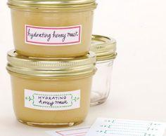 DIY Hydrating Honey Mask