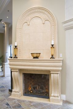 image result for cast stone fireplace and overmantel fireplace rh pinterest com