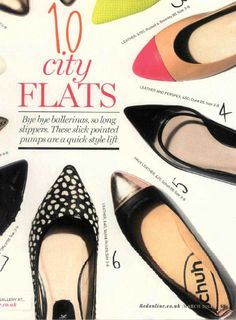 Sometimes a girl just needs a pretty flat - Red magazine know it. #schuh