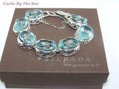 Cache By The Sea - Retiring Silpada 925 Sterling Silver Filigree Aqua Blue Glass Bracelet B2093 Boxed, $190.00 (http://www.cachebythesea.com/retiring-silpada-925-sterling-silver-filigree-aqua-blue-glass-bracelet-b2093-boxed/)