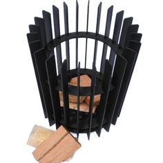 Metal Fire Pit, Cool Fire Pits, Wood Burning Fire Pit, Diy Heater, Fire Basket, Metal Fireplace, Garden Solutions, Metal Art Projects, Fire Art