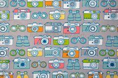 Captured Cameras Next Stop Monaluna for Birch by FabricBubb, $8.25