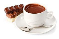 Chocolate quente com leite condensado  Bebidas
