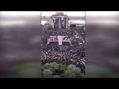 مشهد مهيب لجموع المتطاهرين في ساحة التحرير ببغداد - YouTube