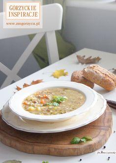 Pachnący czosnkiem, z odrobiną boczku i cebulki przepyszny krupnik http://zmgorzyca.pl/index.php/pl/kulinarny/zupy/395-krupnik-polski-6